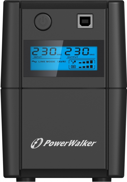 Refurbished PowerWalker VI 850 SE LCD